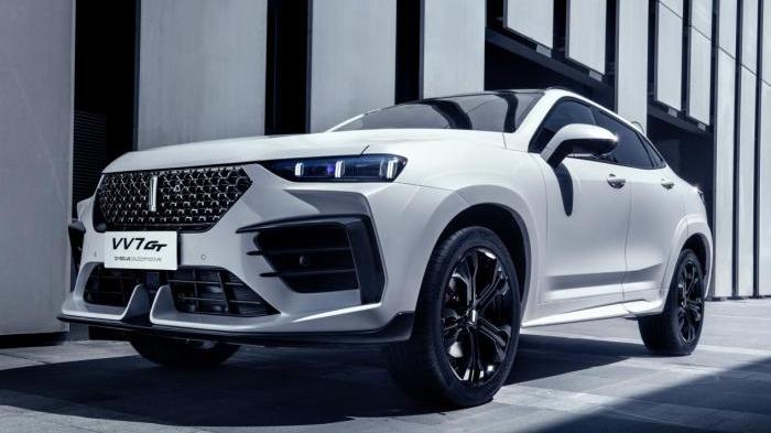 中国品牌首款brabus车型VV7 GT brabus|automotive